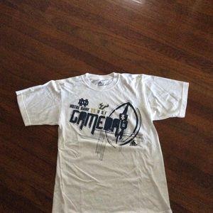 Adidas Norte Dame vs USF Tee Shirt